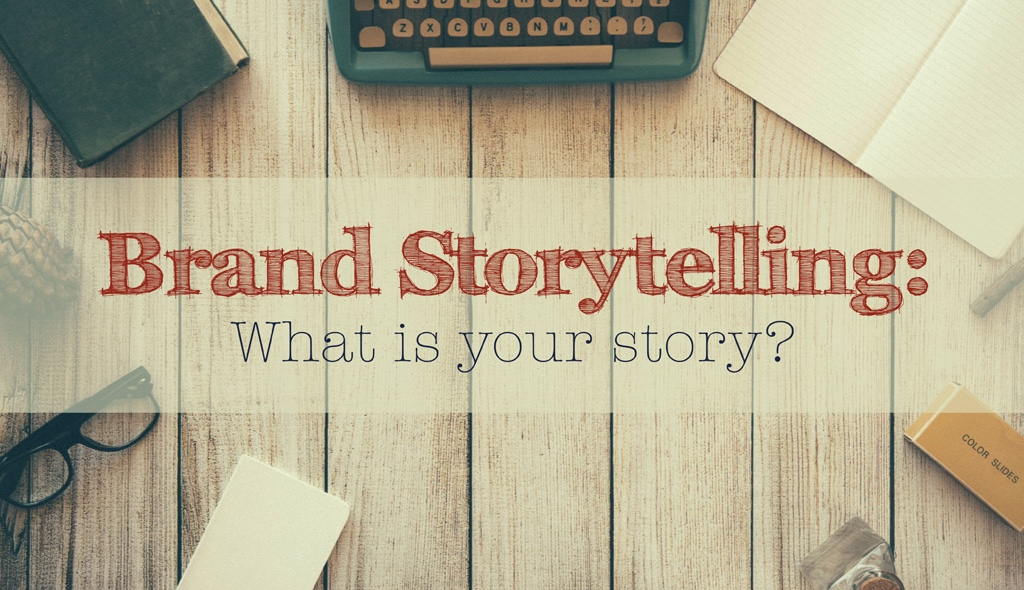 WHEN EVERYONE IS  SELLING , TELL ASTORY